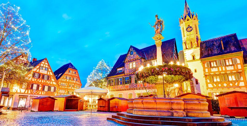 Heidelberg se viste con sus mejores galas para recibir las fiestas navideñas