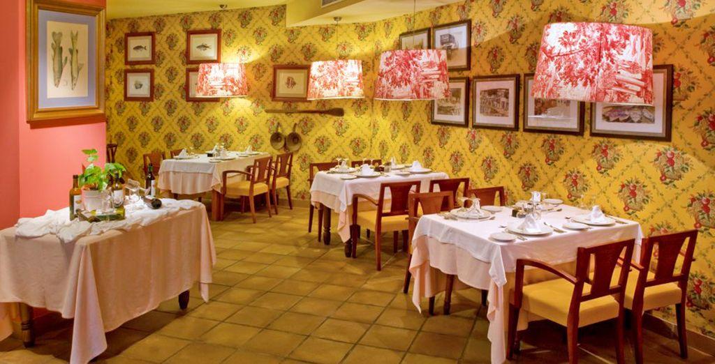 Gran variedad gastronómica en los bares y restaurantes del hotel