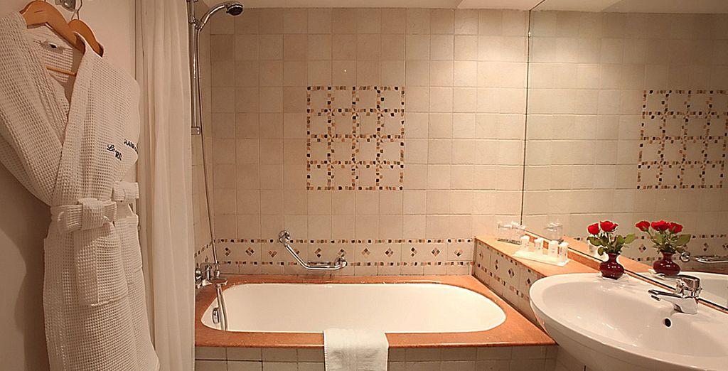Con baño totalmente equipado
