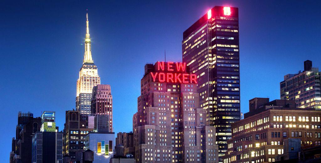 Wyndham New Yorker Hotel 4* te da la bienvenida a Nueva York