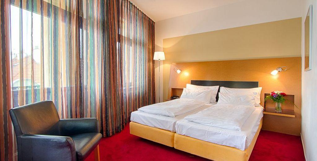 Tu habitación en Hotel Theatrino 4*, Praga
