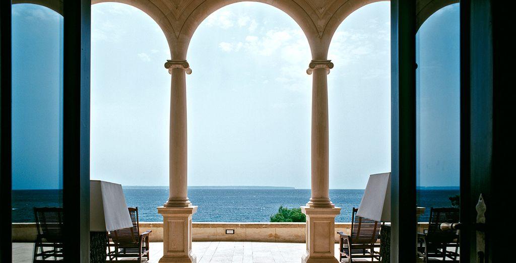 Unas vistas maravillosas al Mediterráneo te esperan en Hotel Hospes Maricel 5*