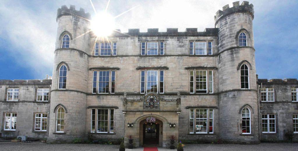 Una de tus opciones de alojamiento: Melville Castle 4*