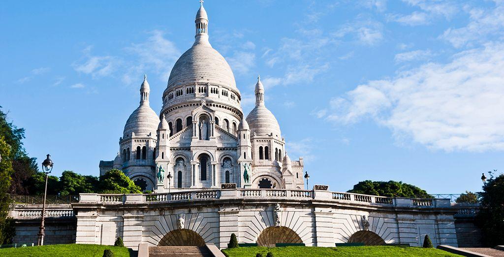 Sube a Montmartre, El Barrio de los Pintores, y contempla la capital francesa