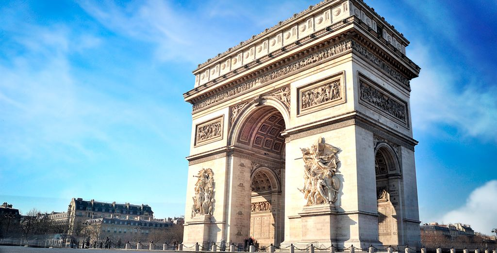 El emblemático Arco de Triunfo