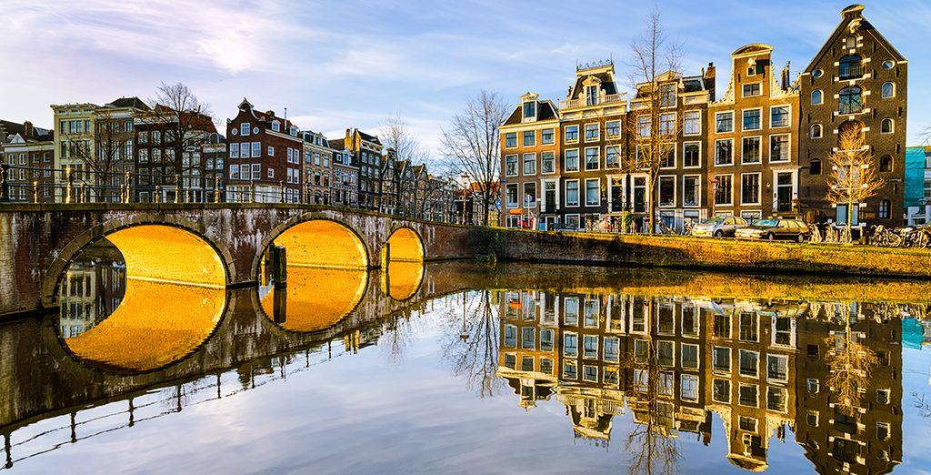 Una ciudad llena de encanto que parece sacada de una película