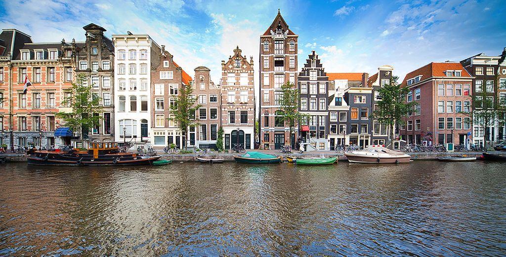 ¡Bienvenido a la fabulosa ciudad de Ámsterdam!