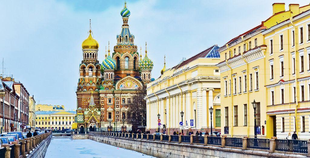 ¡San Petersburgo te está esperando!
