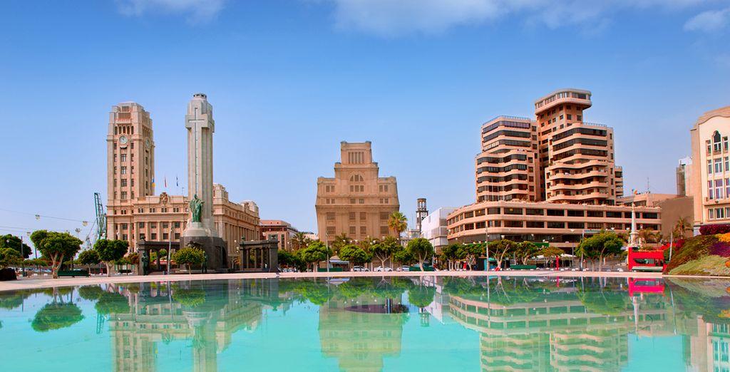 Acércate a Santa Cruz de Tenerife, la capital de la isla