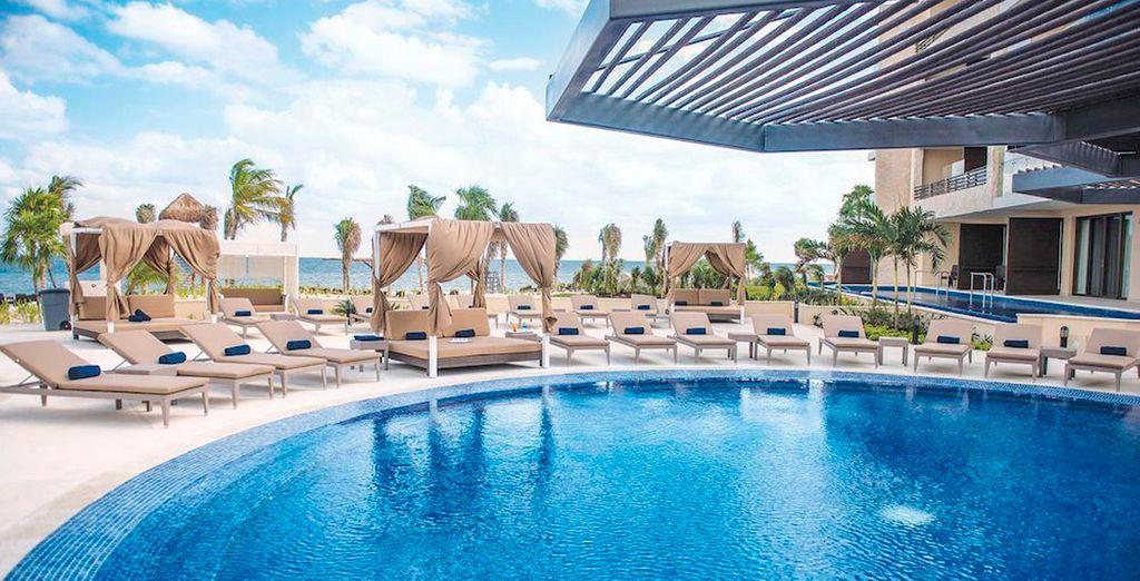 Un resort sólo para adultos en una propiedad tranquila