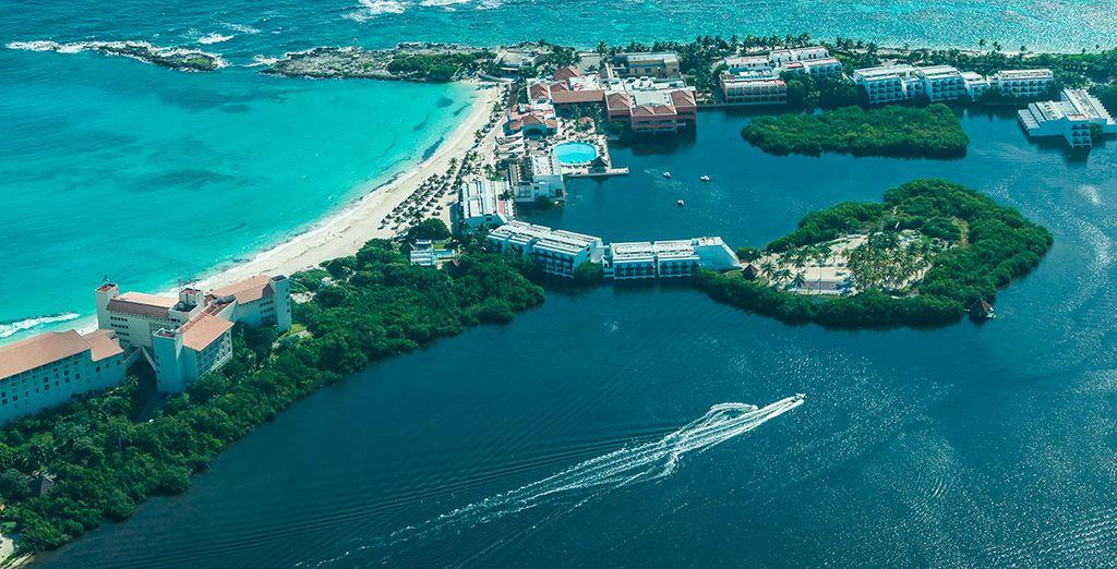 Próximo destino... ¡Cancún!