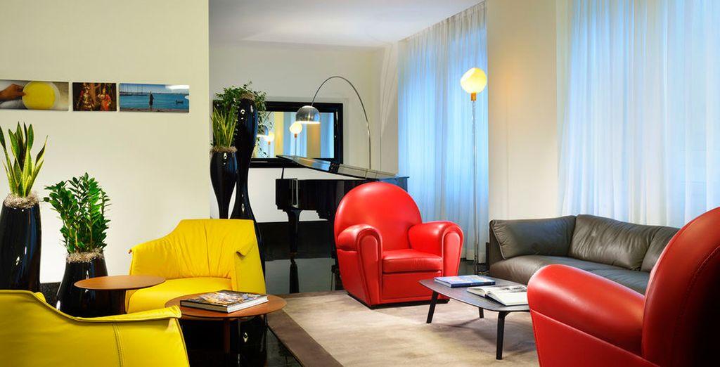 Espacios de colores vivos y confortables