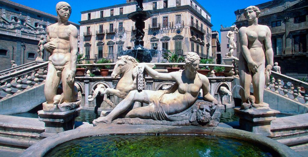 Pretoria en la ciudad de Palermo