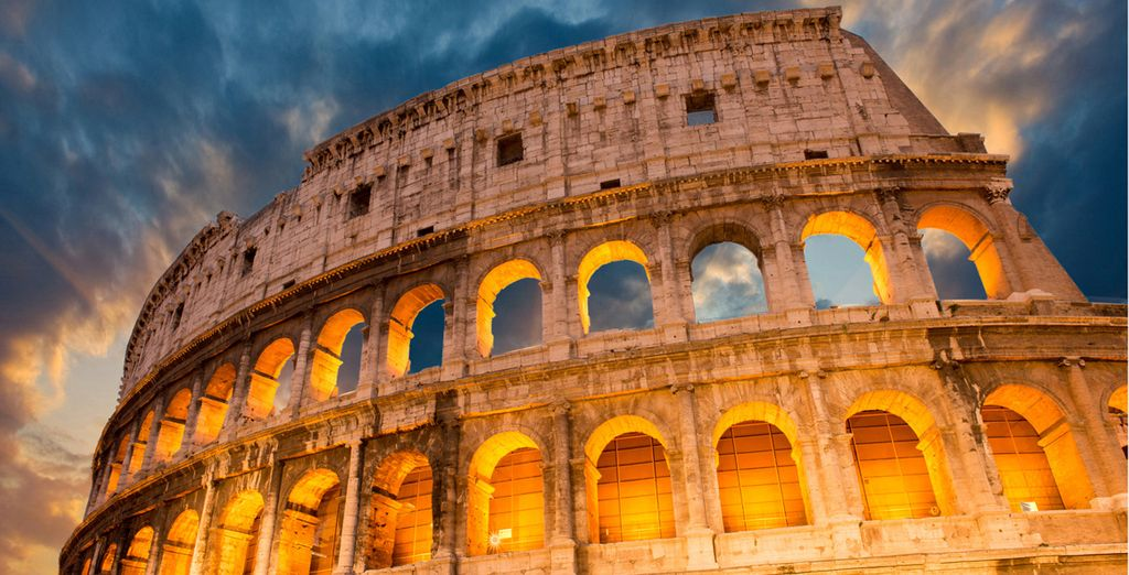 Acércate al emblemático Coliseo