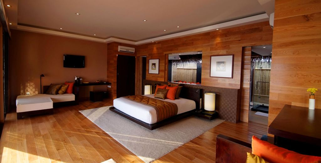 El interior de tu alojamiento te transportará a un mundo de confort