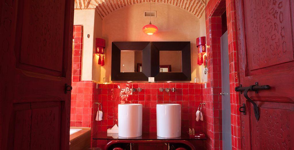 Baño de la Suite China...