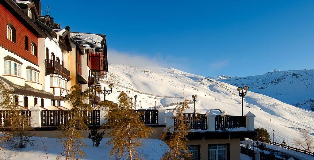 Vincci Selección Rumaykiyya 5* es el hotel más alto de Europa con acceso directo a pistas