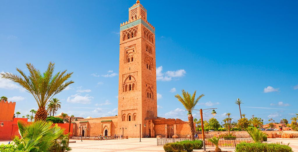 Visita la Mezquita Kutubía