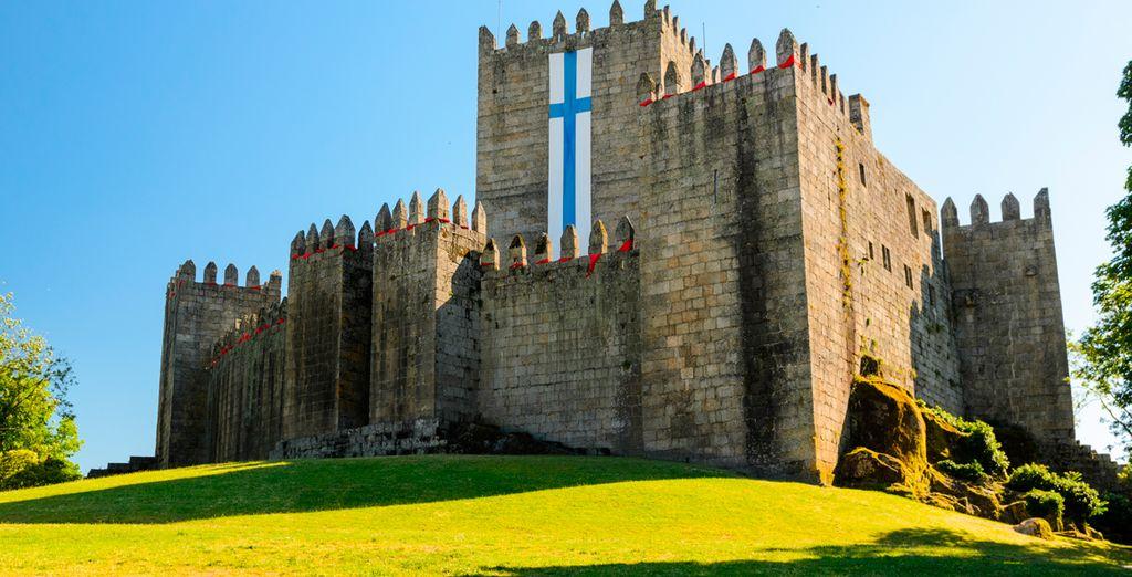 El Castillo de Guimaraes una visita que no te puedes perder