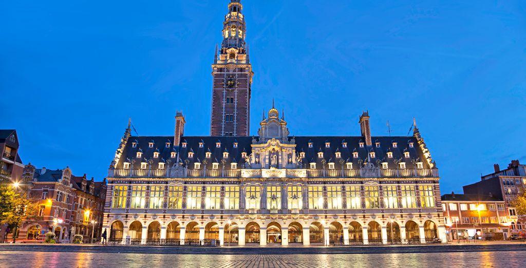 Lovaina, ciudad universitaria de Flandes por excelencia