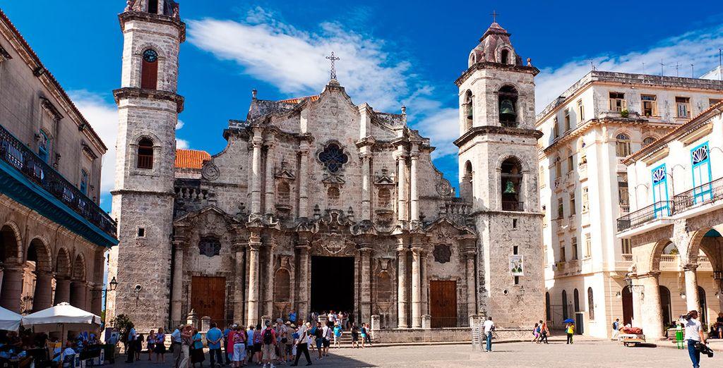 La catedral de La Habana