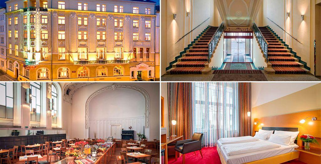 Hotel Teathrino 4*, en el centro de Praga