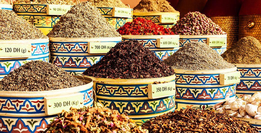 Descubre un mundo de aromas en la ciudad marroquí