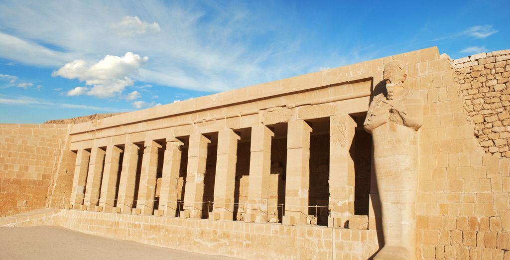 Conoce la historia a través del Templo de la Reina Hatsheput