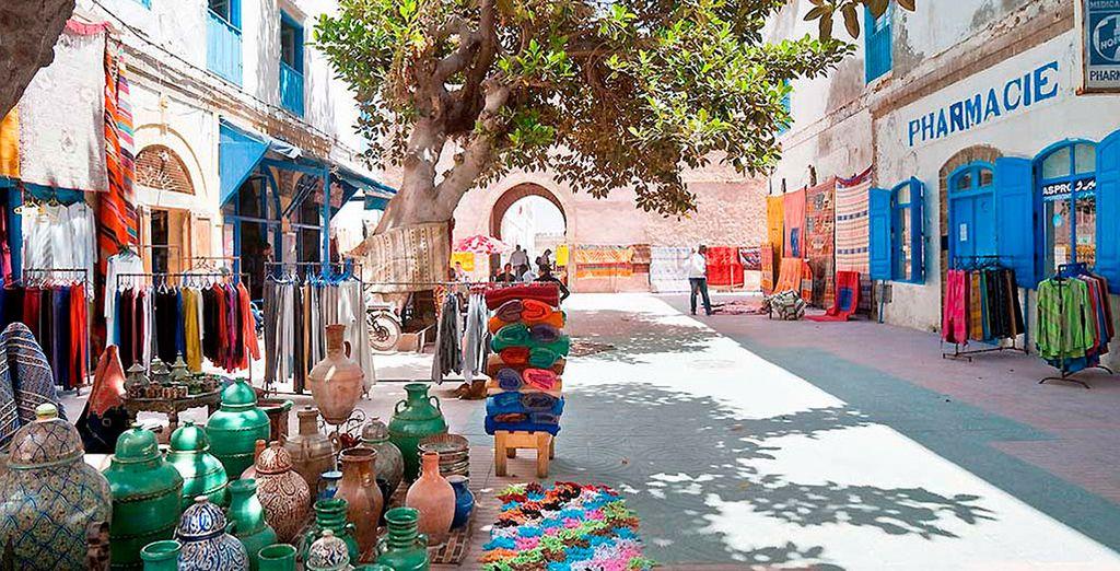 Sumérgete en las calles de Essaouira