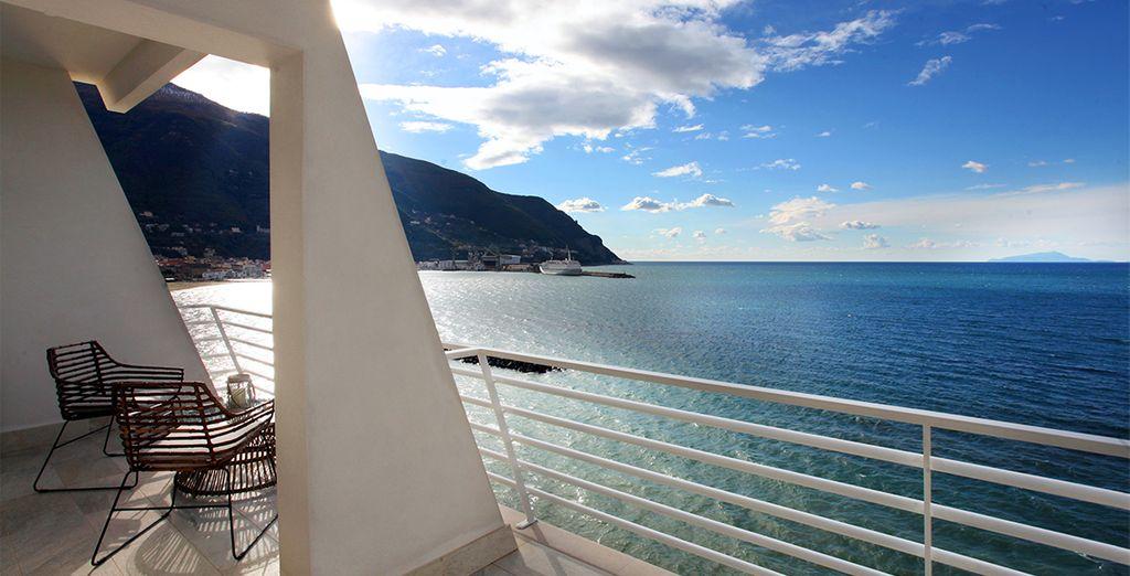 Miramare Stabia, un hotel 4* con unas vistas increíbles