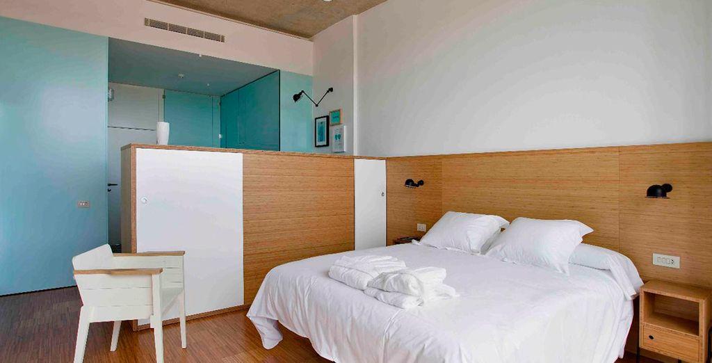 Habitaciones cómodas para un descanso perfecto