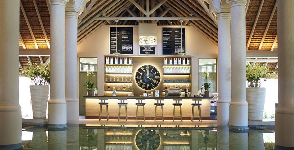 En el Café Lux* se sirve a su propia mezcla de sabores de la isla