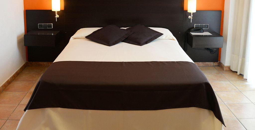 Descansarás en una cómoda habitación Estándar