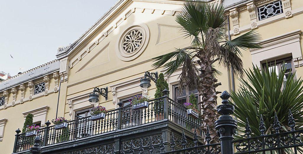 Situado en un palacio del siglo XIX