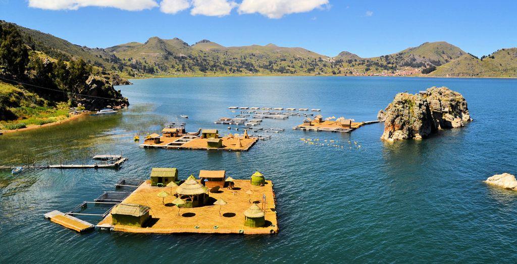 Deléitate la vista con paisajes como los del lago Titicaca