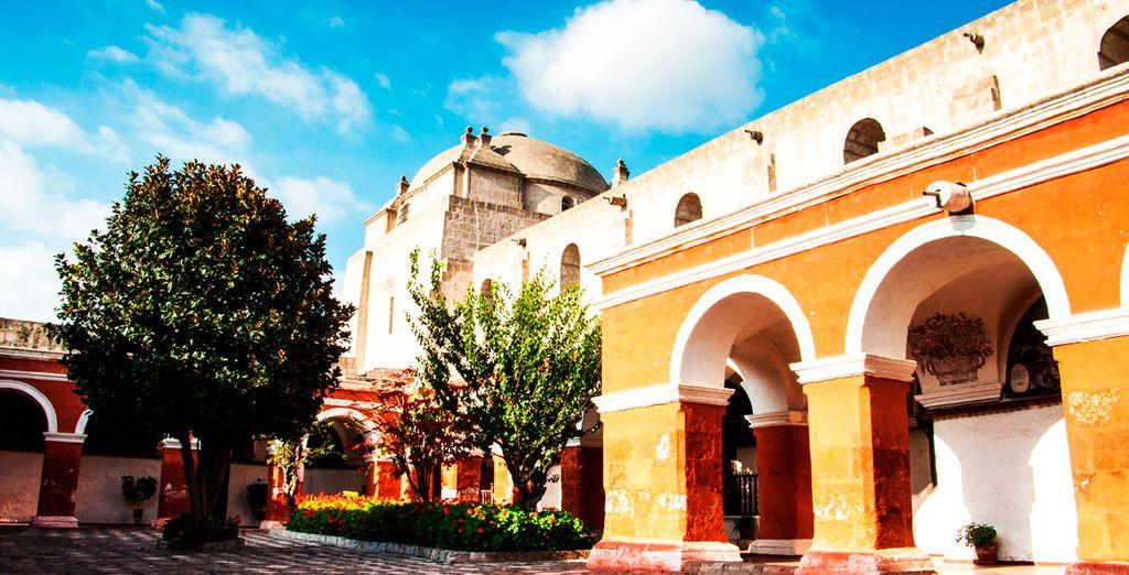 El Convento de Santa Catalina, complejo turístico religioso de Arequipa