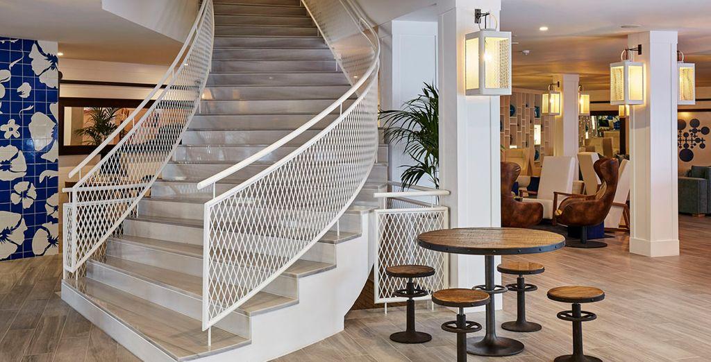 Un espacio decorado con un gusto exquisito y práctico