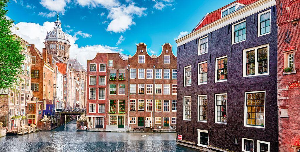 Ámsterdam, una ciudad llena de color