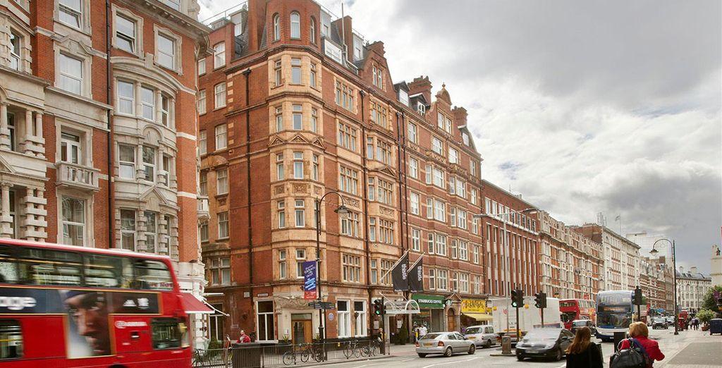 The Bloomsbury Park Hotel se encuentra en un edificio de estilo eduardiano
