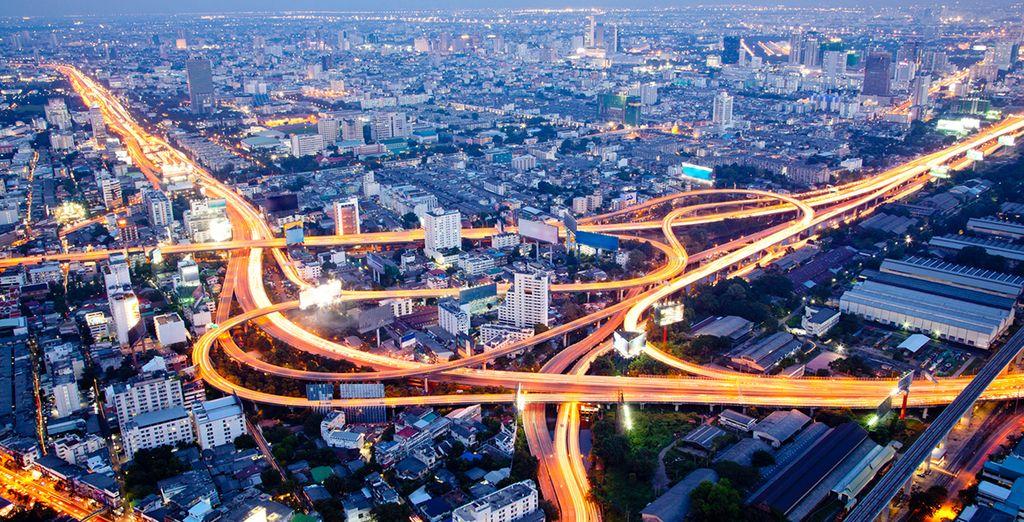 Bienvenido a la cosmopolita ciudad de Bangkok