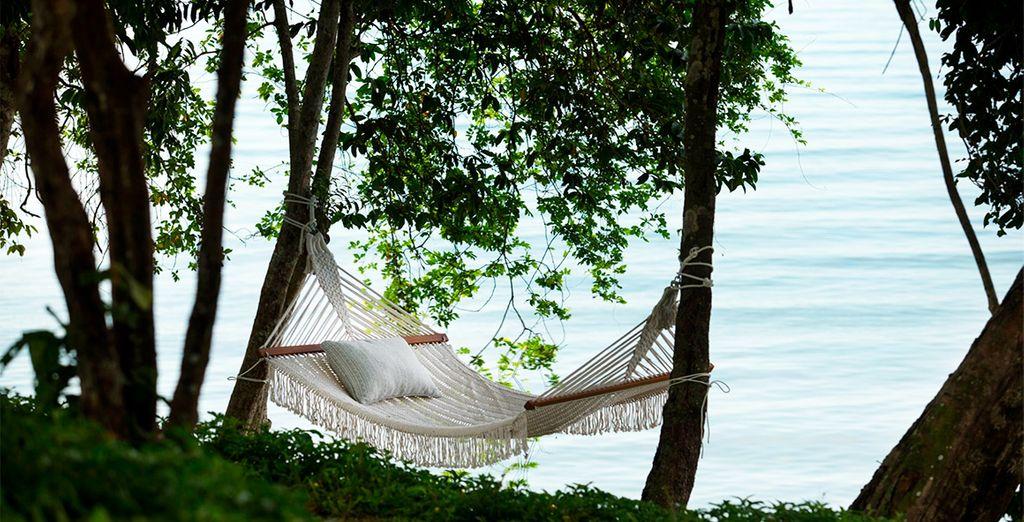 Un oasis de relajación en un enclave idílico