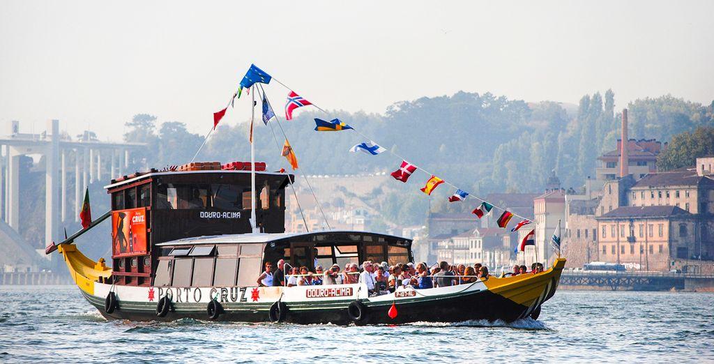 Embárcate en un crucero por los 6 puentes en Oporto