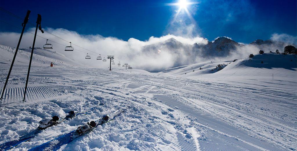 Un verdadero paraíso para los amantes del esquí...