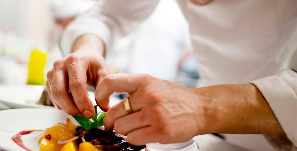 No te pierdas las delicias culinarias de sus tres restaurantes