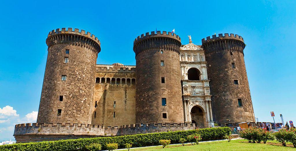 Comenzarás el itinerario en Nápoles