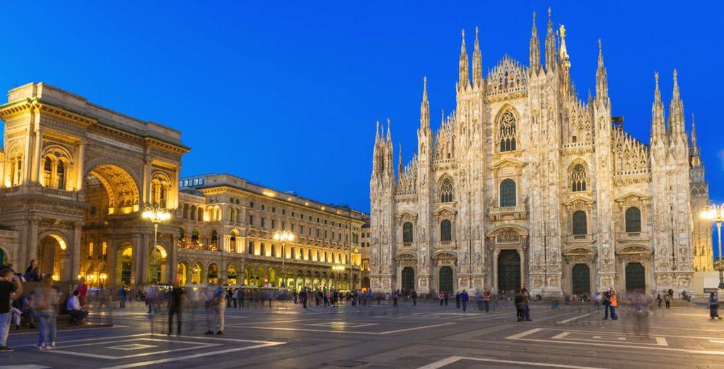 ¡Descubre la grandeza de la ciudad de Milán!