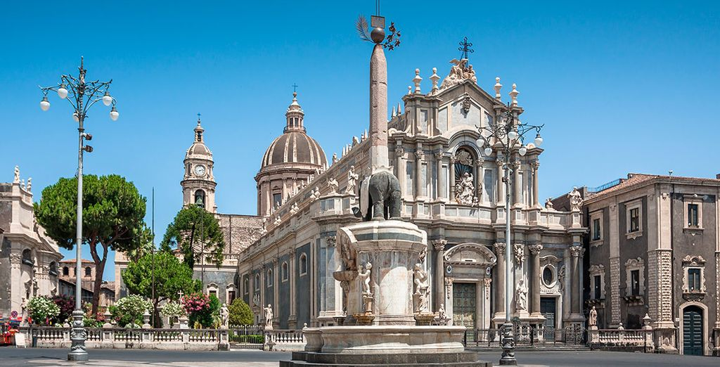 Acércate a la bella Catania