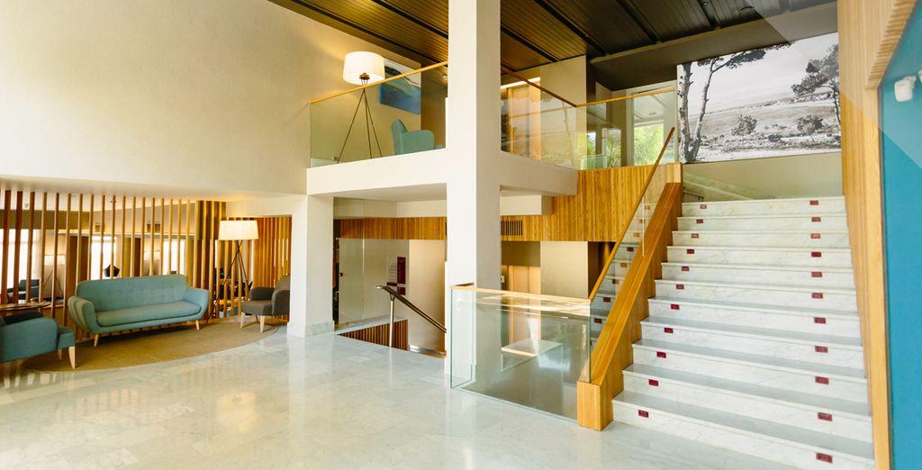 Un moderno complejo con múltiples servicios e instalaciones