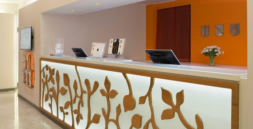 Bienvenido a UNA Hotel Mediterraneo 4*