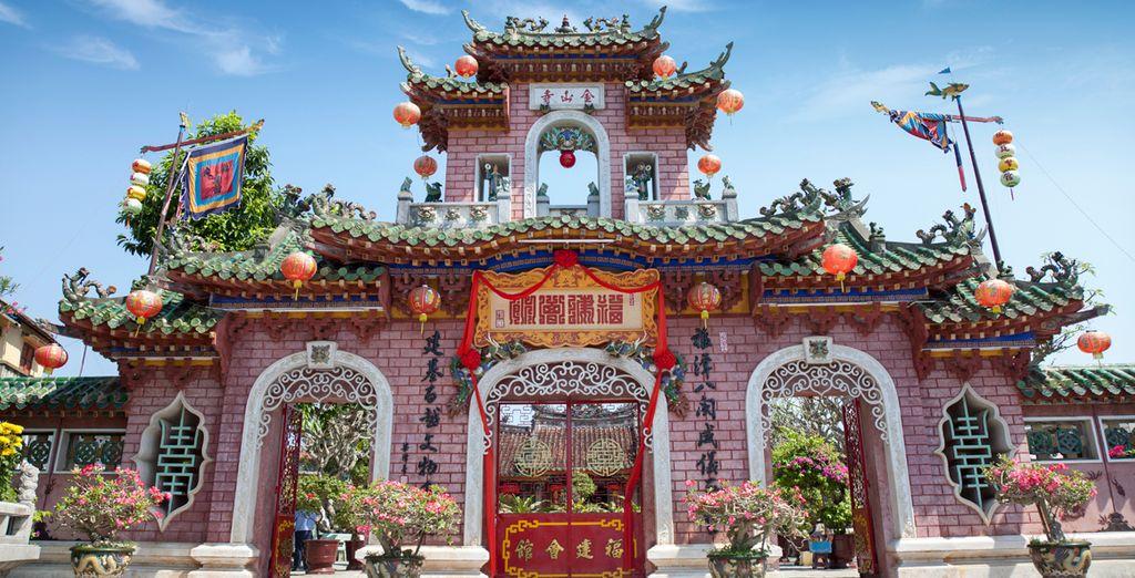 Templo cantonés en Hoi An